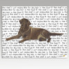 Chocolate Labrador Lying Cutting Board