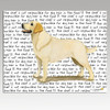 Yellow Lab Standing Cutting Board