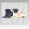 Pug Pair Cutting Board