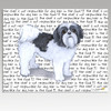 Shih Tzu Puppy Clip Cutting Board