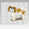 Tan & White Shih Tzu Puppy Clip Cutting Board