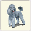 Silver Poodle Coasters