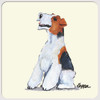 Wirehaired Fox Terrier Beverage Coasters