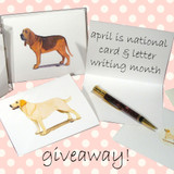 Our April Note Card Giveaway is On