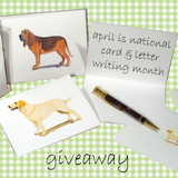 Happy April! Our Note Card Giveaway is On!