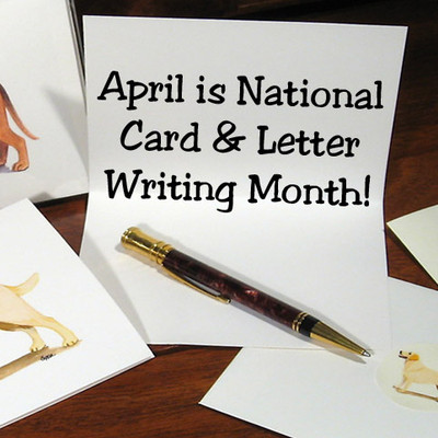 National Card and Letter Writing Month Is Here!