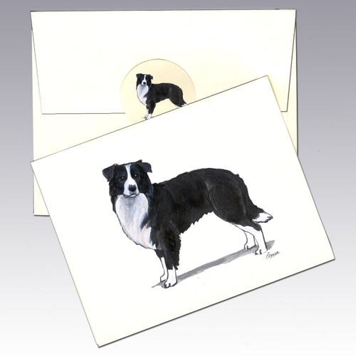 Border Collie Note Cards