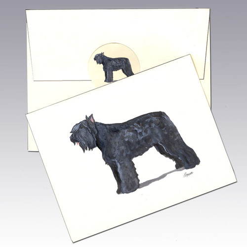 Bouvier des Flandres Note Cards