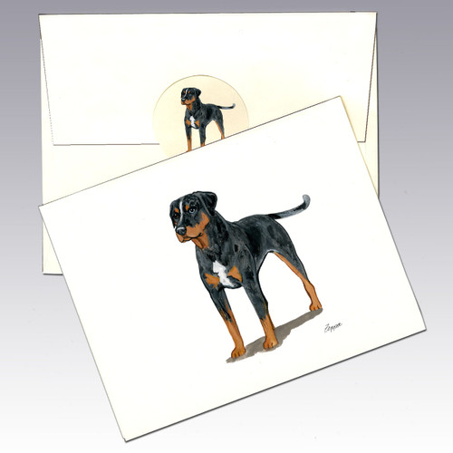 Catahoula Leopard Dog Note Cards