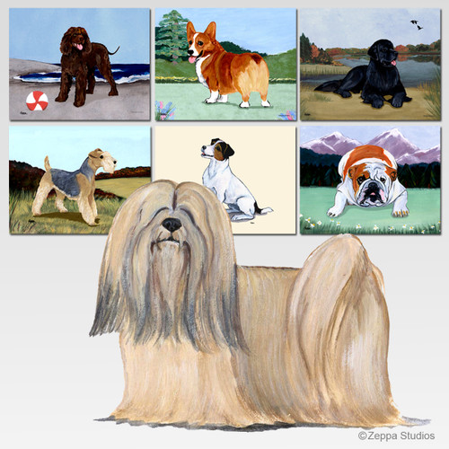 Lhasa Apso Cutting Board