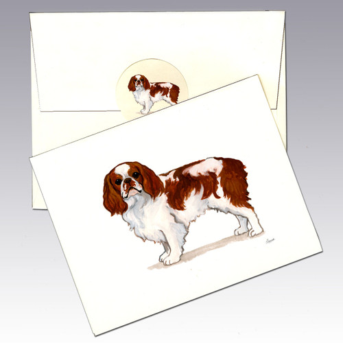 English Toy Spaniel Note Cards