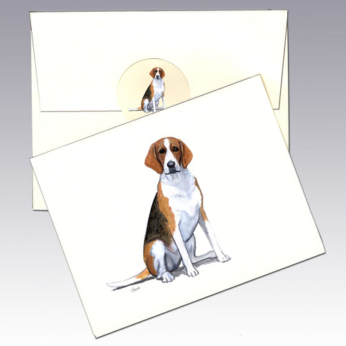 Foxhound Note Cards