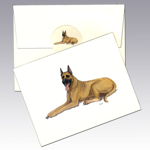 Great Dane Note Cards