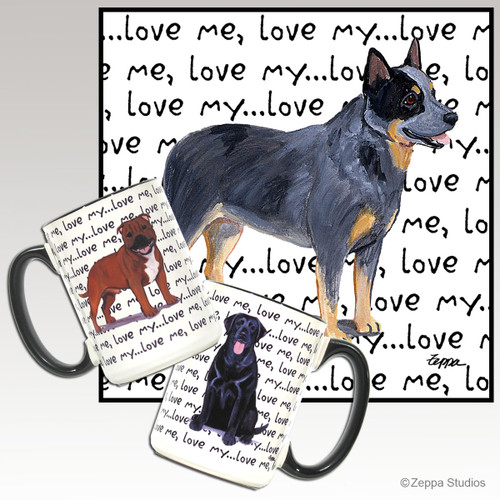 Australian Cattle Dog Love Me Mug