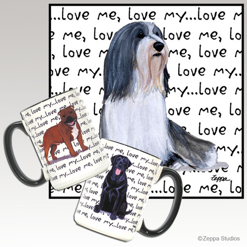 Bearded Collie Love Mug
