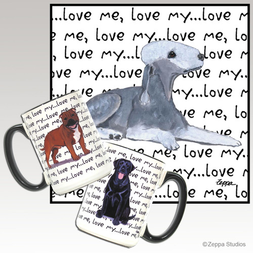 Bedlington Terrier Love Me Mug