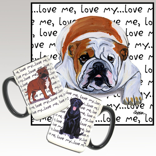 Bulldog Love Me Mug