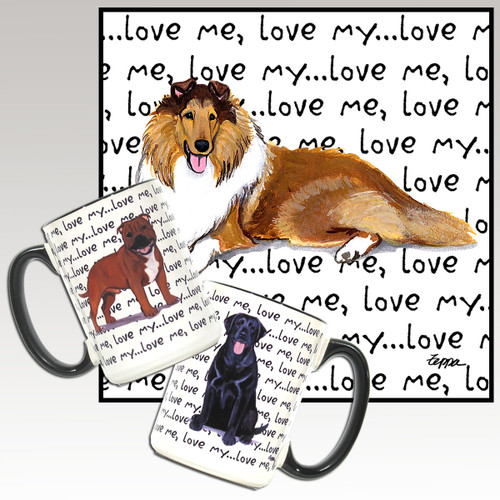 Collie Love Me Mug