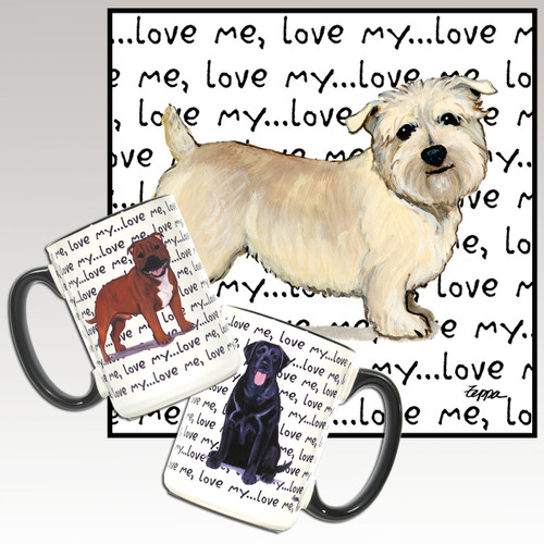 Glen of Imaal Terrier Love Me Mug