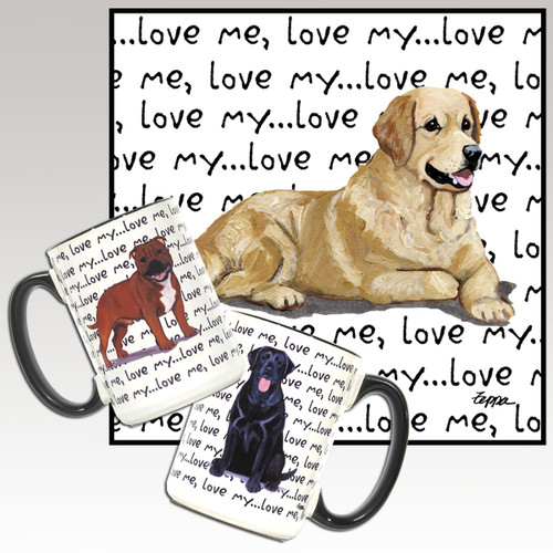 Golden Retriever Love Me Mug