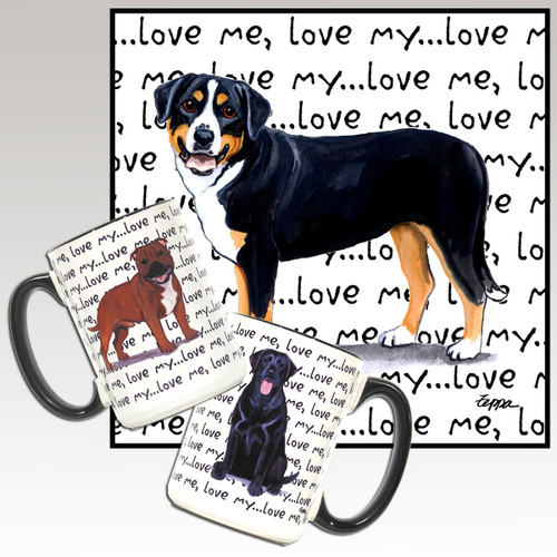 Greater Swiss Mountain Dog Love Me Mug