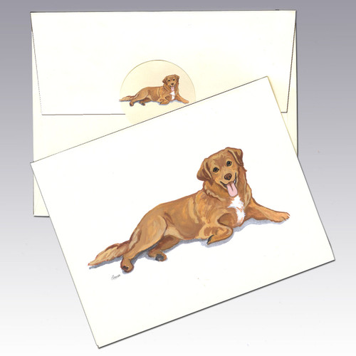 Nova Scotia Duck Tolling Retriever Note Cards