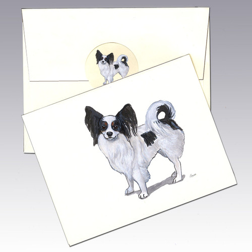 Papillon Note Cards