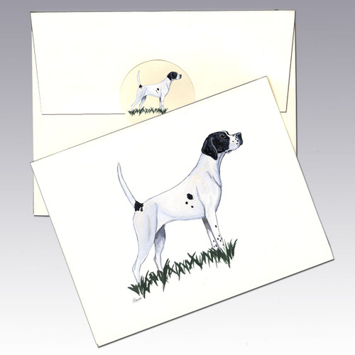 Pointer Note Cards