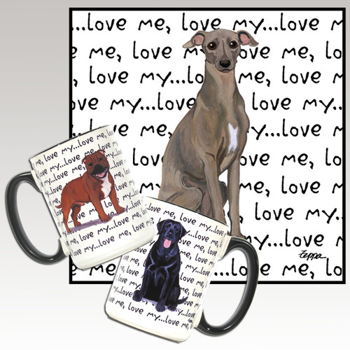 Italian Greyhound Love Me Mug