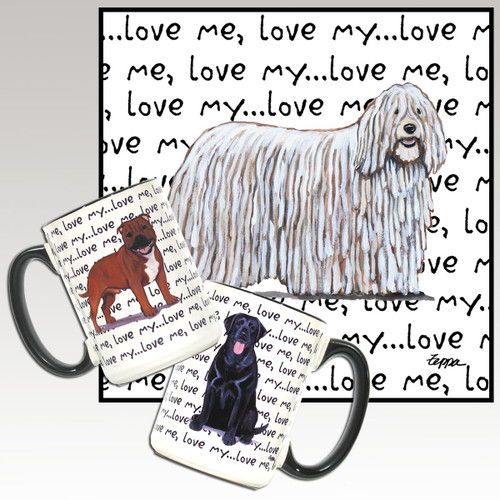 Komondor Love Mug