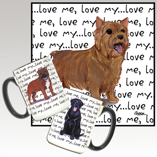 Norwich Terrier Love Me Mug