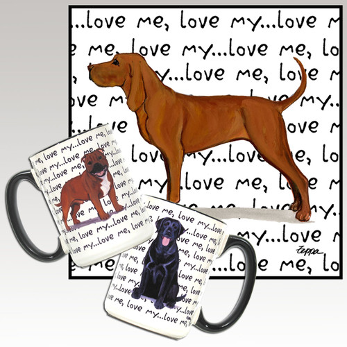 Redbone Coonhound Love Me Mug