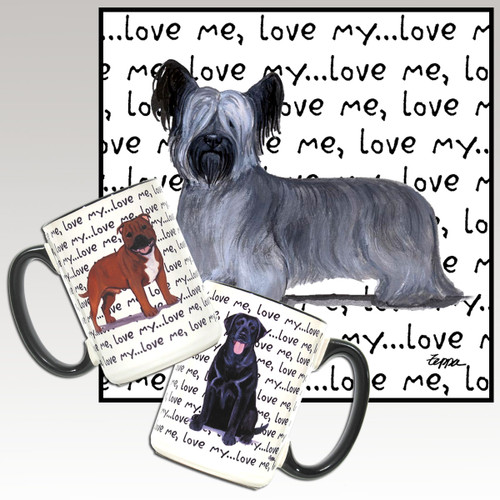 Skye Terrier Love Me Mug