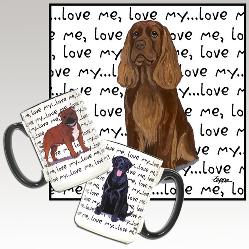 Sussex Spaniel Love Me Mug