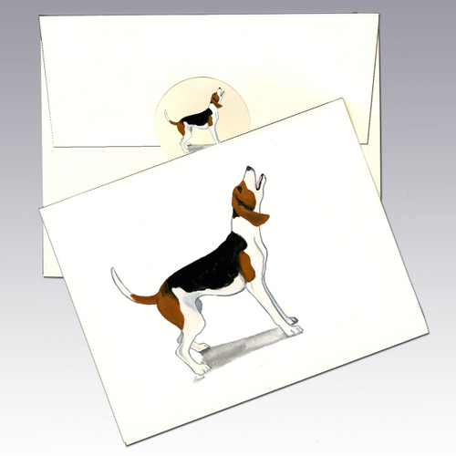 Treeing Walker Coonhound Note Cards