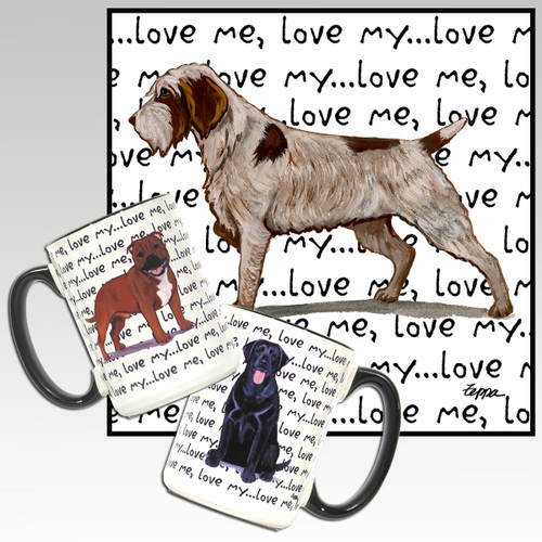 Wirehaired Pointing Griffon Love Me Mug
