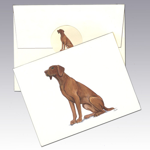 Vizsla Note Cards