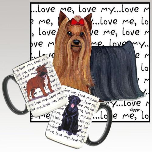 Yorkshire Terrier Love Me Mug
