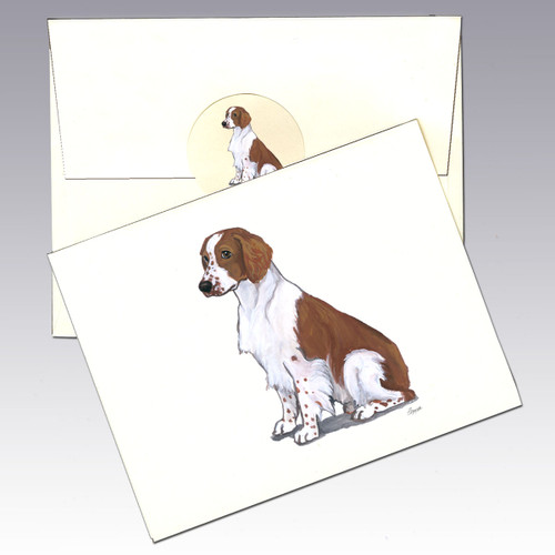 Welsh Springer Spaniel Note Cards