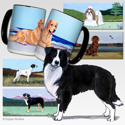 Border Collie Cutting Board