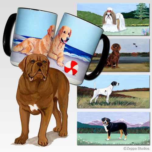 Dogue de Bordeaux Scenic Mugs