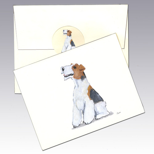 Wirehaired Fox Terrier Note Cards