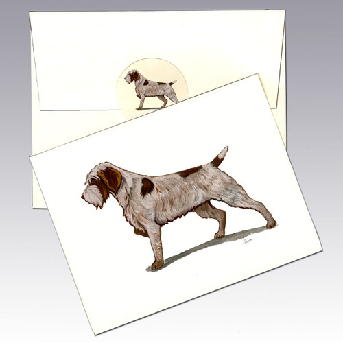 Wirehaired Pointing Griffon Note Cards