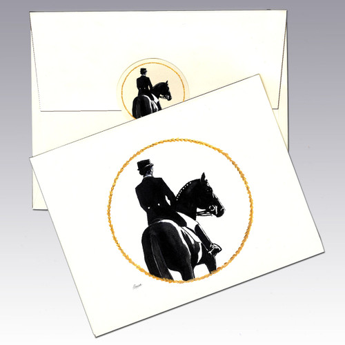 Dressage Note Cards