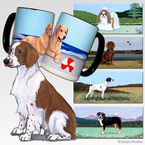 Welsh Springer Scenic Mug