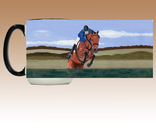 Hunter Jumper Scenic Mug