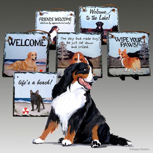 Bernese Mountain DogSlate Signs