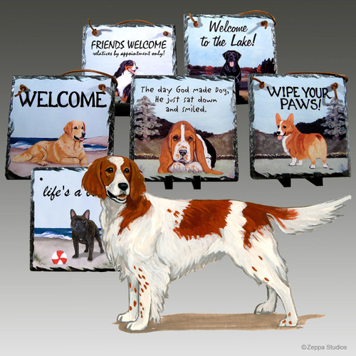 Irish Setter Slate Signs
