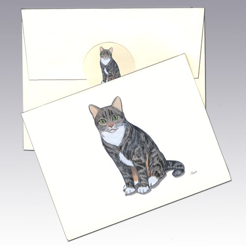 Tabby Cat Note Cards
