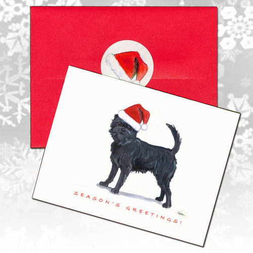 Affenpinscher Christmas Cards
